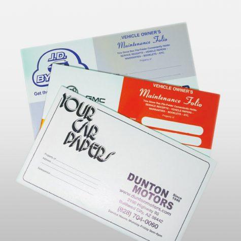 Paper Document Folders