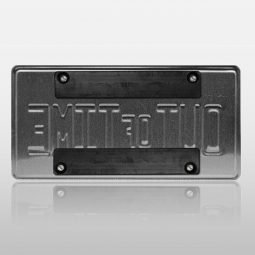 Rubber Coated Tag Magnet