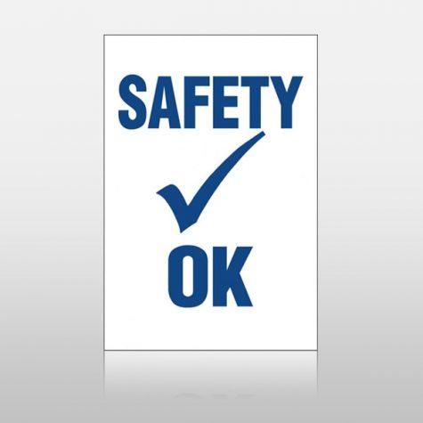 Safety OK Stickers