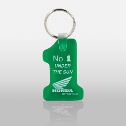Soft Touch Key Fobs - Number 1