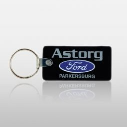 Soft Touch Key Fobs - Rectangle