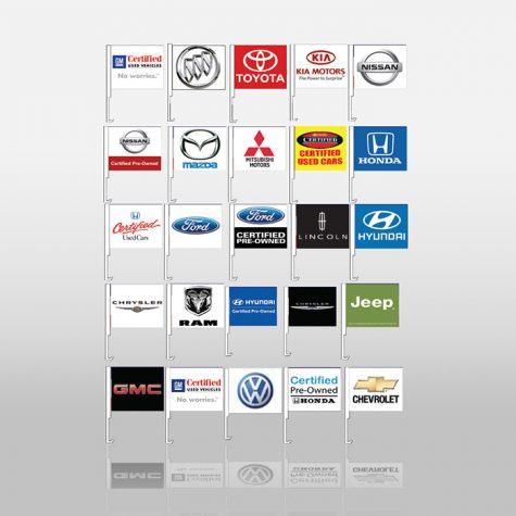 Window Flags - Manufacturer Logo