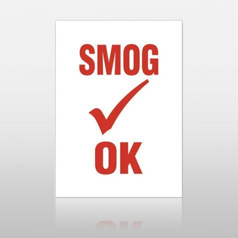 Smog OK Stickers