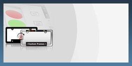 Custom License Plate Frame Designer