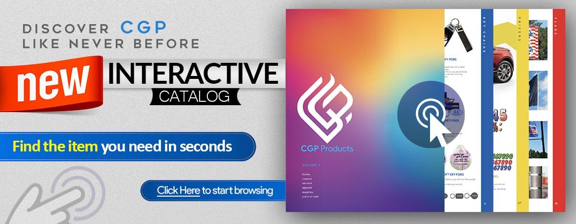 CGP Products Interactive Catalog